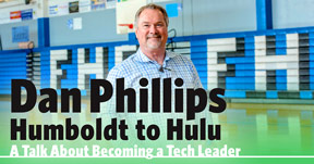 Distinguished Alumni - Dan Phillips photo and ad