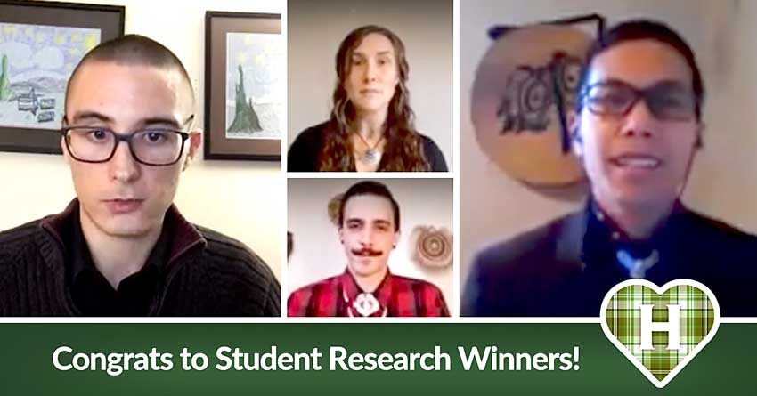 Zoom call for Student Research Comp